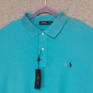 Ralph Lauren • Interlock Classic-Fit Mesh Polo 3XB